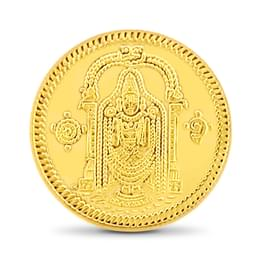 2gm, 22Kt Lord Balaji Gold Coin