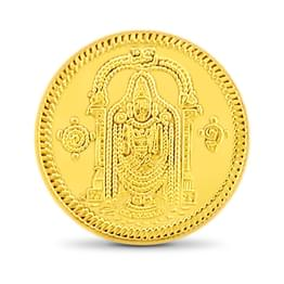 10gm, 24Kt Lord Balaji Gold Coin