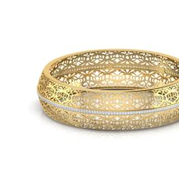 Fola Cutwork  Bangle