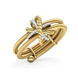 Interwined Adjustable Ring