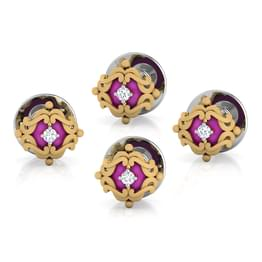 Ranvir Kurta Button Set of 4