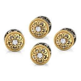 Aarav Kurta Button Set of 4