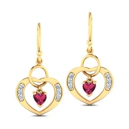 Amor Ruby Earrings