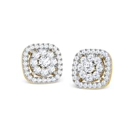 Glitzy Stud Earrings