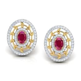 Webbed Royale Stud Earrings