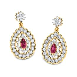 Foliate Ruby Drops