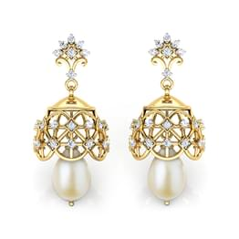 Royal Sceptre Jhumkas