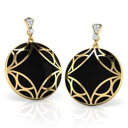 Dusk Black Onyx Earrings
