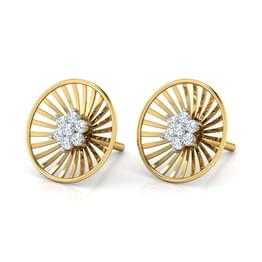 Roulette Stud Earrings