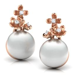 Bloom Pearl Earrings
