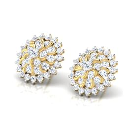 Surya Cluster Stud Earrings