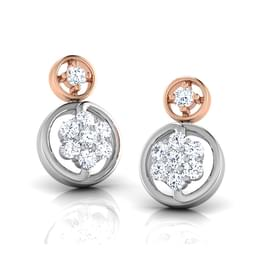 Anthia Circled Stud Earrings
