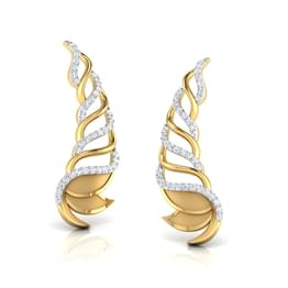 Lotus Layered Ear Cuffs