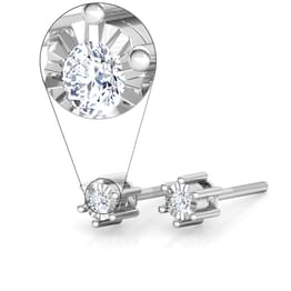 Inina Miracle Plate Stud Earrings