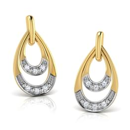 Evalea Ripple Drop Earrings