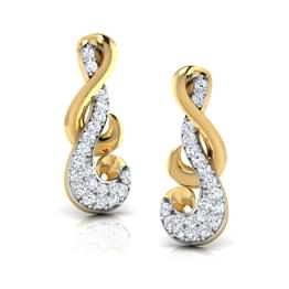 Entwined Stud Earrings
