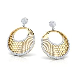 Nora Circular Drop Earrings