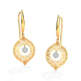 Evelyn Ornate Drop Earrings