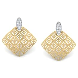Joe Trellis Stud Earrings