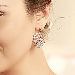 Elegance Trellis Drop Earrings