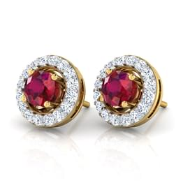Orbed Stud Earrings