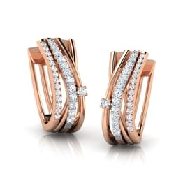Doris Linear Stud Earrings