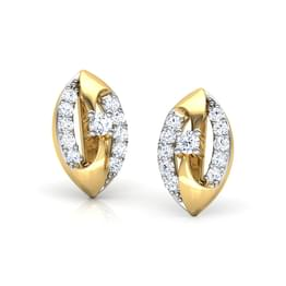 Joyous Swirl Stud Earrings