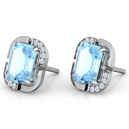 Bluelight Stud Earrings