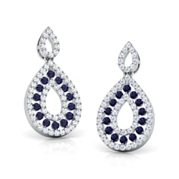 Duo Pear Drop Earrings