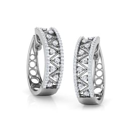 Treka Triangles Hoop Earrings