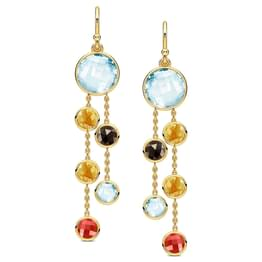 Sway Gemstone Earrings