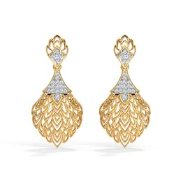 Batino Leaf Drop Earrings
