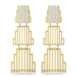 Eros Stepped Tier Drop Earrings