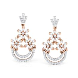 Floret Ornate Drop Earrings