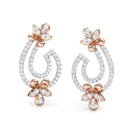 Flare Floret Drop Earrings