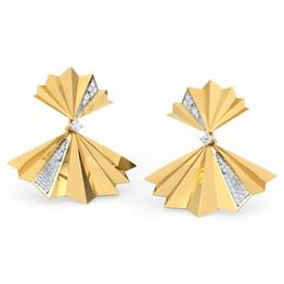 Empress Fan Drop Earrings