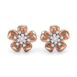 Periwinkle Floret Stud Earrings