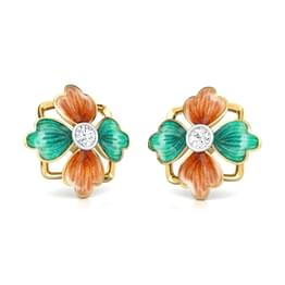 Mahira Tulip Stud Earrings