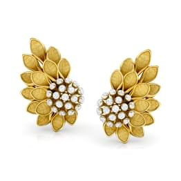 Sunflower Bloom Stud Earrings