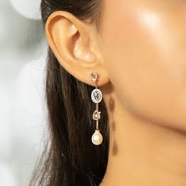Adeeba Floret Drop Earrings