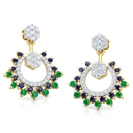 Advita Vibrant Drop Earrings