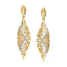 Meeta Mesh Drop Earrings