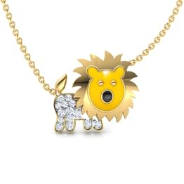 Simba Lion Necklace