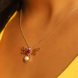 Soar Dragonfly Necklace