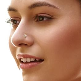 Ganika Spiral Nose Pin