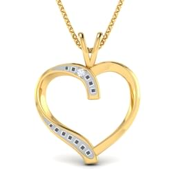 Connelly Gold Pendant in 14KT Yellow Gold