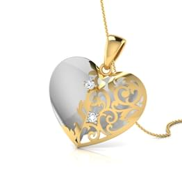 Kate Heart Wrap Pendant
