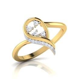 Glistening Dew Drop Ring