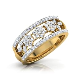 Bouvardia Diamond Ring