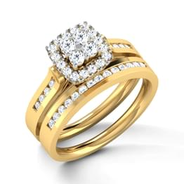 Dazzle Bridal Ring Set